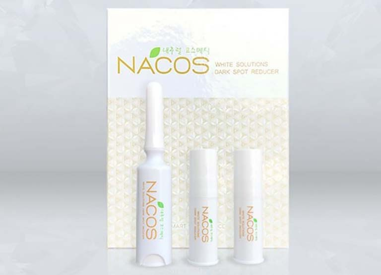 Set kem hỗ trợ điều trị tổn thương da Nacos