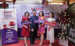 Lễ công bố thương hiệu Saffron Vietfarm - 100% nhụy hoa nghệ tây thật từ những sợi nhụy tốt nhất thế giới