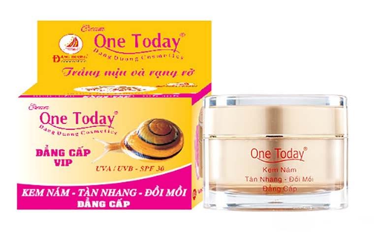 One Today là dòng kem chăm sóc da uy tín xuất xứ tại Việt Nam