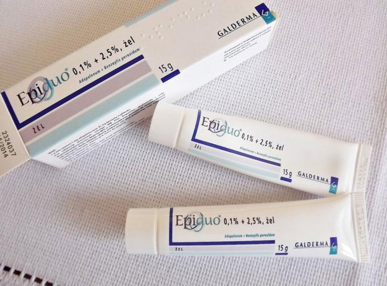 Epiduo là loại kem thuốc trị mụn bọc hiệu quả