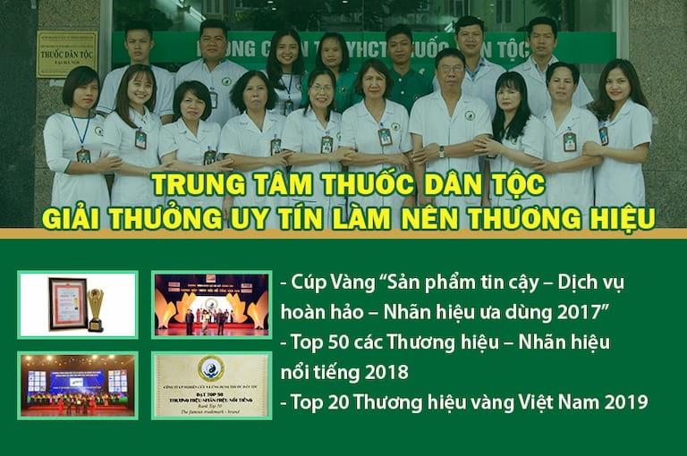 Trung tâm Thuốc dân tộc vinh dự nhận thưởng cao cấp