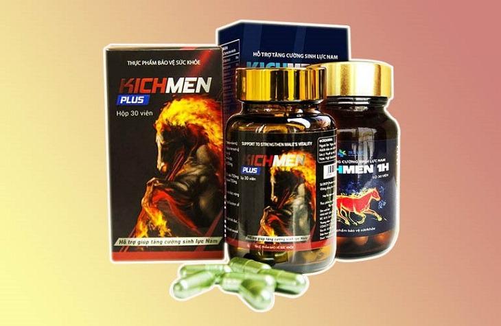 Kichmen Plus - thuốc tăng cường sinh lý cấp tốc của Mỹ