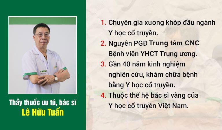 Thầy thuốc ưu tú, bác sĩ CKII Lê Hữu Tuấn