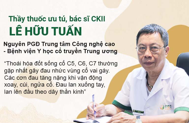 Thầy thuốc ưu tú, bác sĩ Lê Hữu Tuấn tư vấn bệnh xương khớp