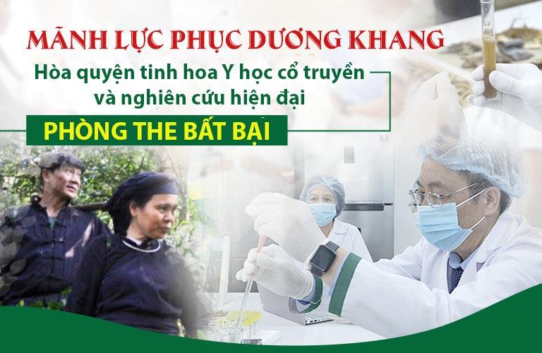Mãnh lực Phục dương khang tinh hoa Y học cổ truyền Việt Nam