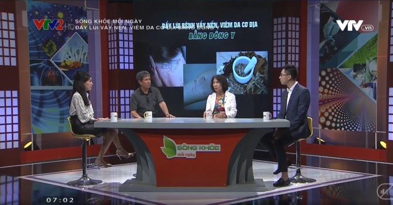 VTV2 đưa tin về bài thuốc Thanh bì Dưỡng can thang