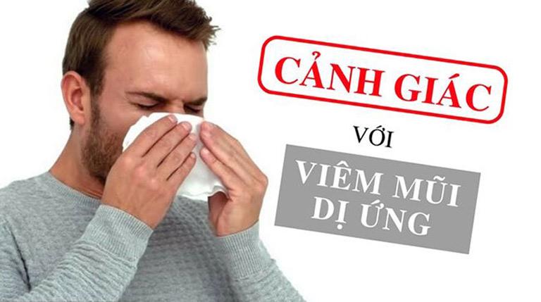 Ngày càng có nhiều người bị viêm mũi dị ứng