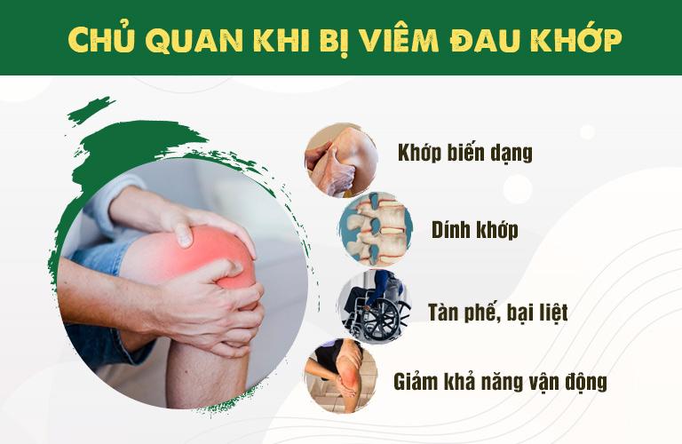 Biến chứng nguy hiểm nếu viêm đau khớp không được can thiệp đúng cách
