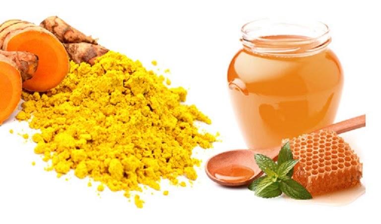 Dùng nghệ và mật ong chữa bệnh đại tràng tại nhà đơn giản