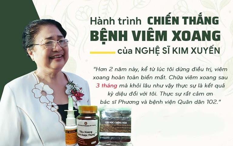 Chia sẻ của nghệ sĩ Kim Xuyến