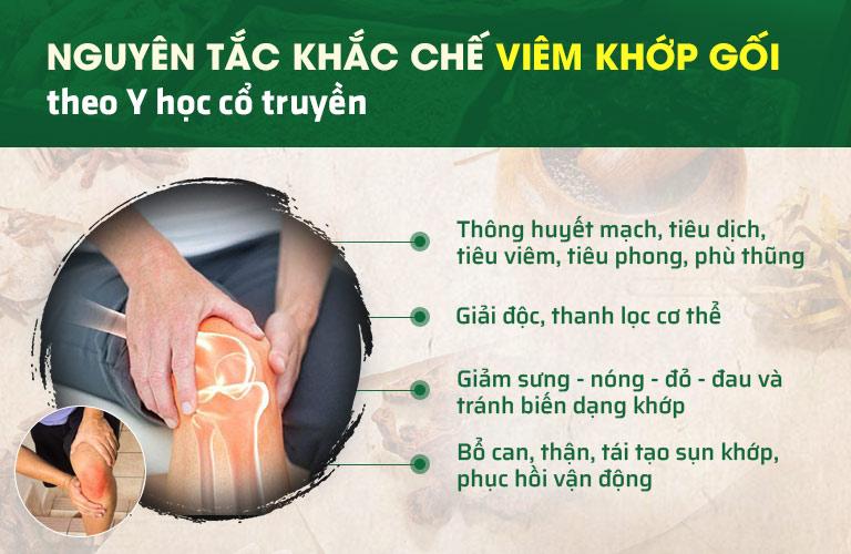 Y học cổ truyền xử lý viêm đau khớp gối từ gốc, ngăn tái phát lâu dài