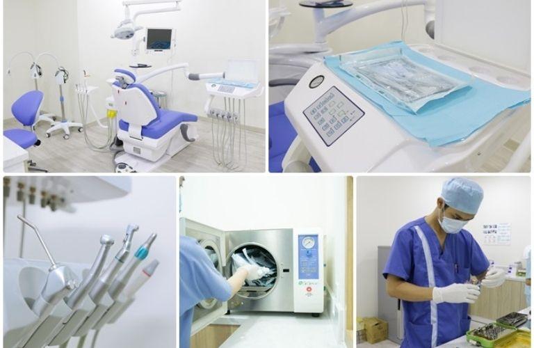 Nha khoa Kim với hệ thống vô trùng tuyệt đối, tránh tình trạng lây nhiễm chéo cho khách hàng.