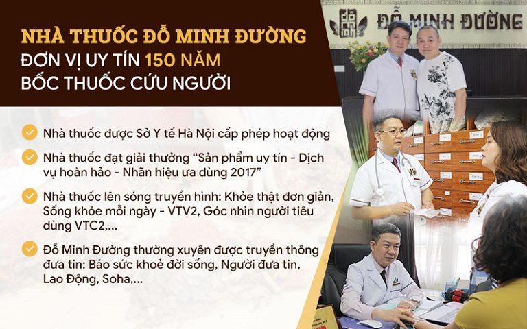 Nhà thuốc Đỗ Minh Đường – Địa chỉ khám chữa YHCT uy tín hàng đầu
