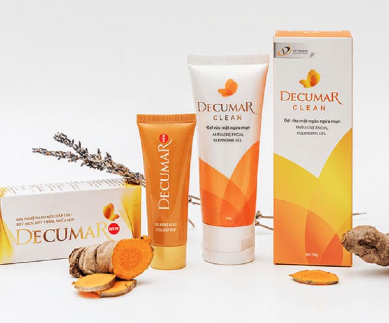 Kem, thuốc trị mụn Decumar giúp giảm viêm sưng nhanh