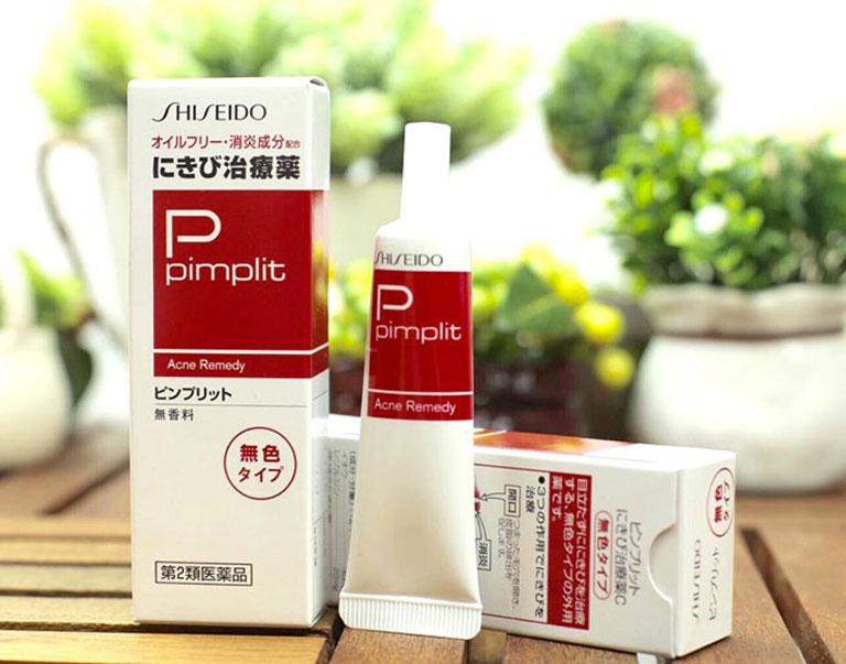 shiseido pimplit giúp giảm nhanh tình trạng mụn trứng cá