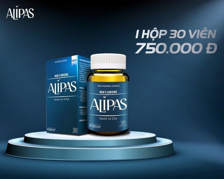 Thuốc tăng cường sinh lý của Mỹ Sâm Alipas