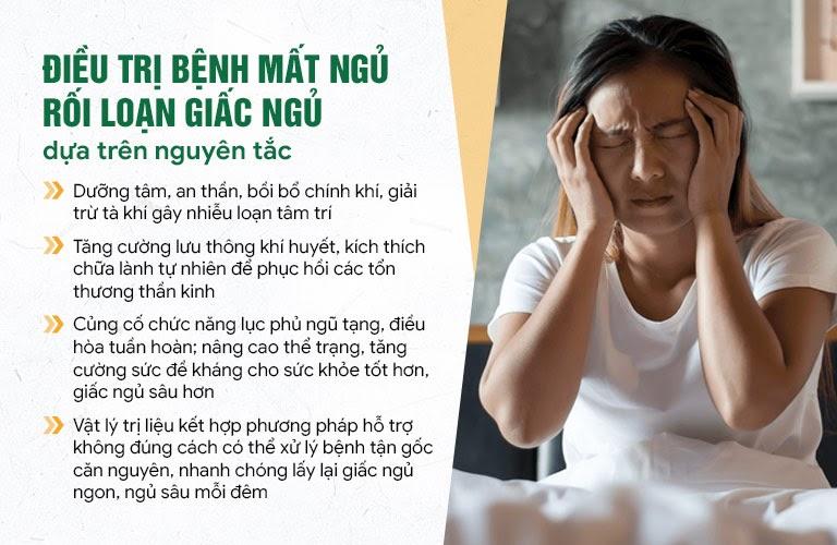 Nguyên lý điều trị rối loạn giấc ngủ của Đông phương Thần hiệu - Định tâm theo YHCT
