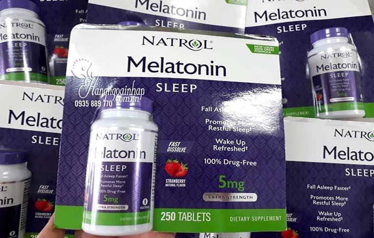 Melatonin là loại thuốc ngủ của Mỹ điều trị mất ngủ, khó ngủ hiệu quả