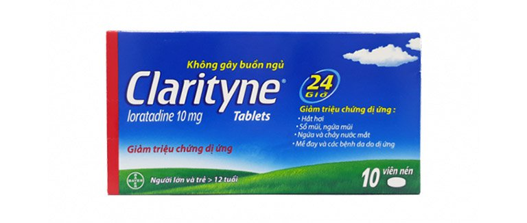 Thuốc Loratadin thường được dùng cho các trường hợp nhẹ