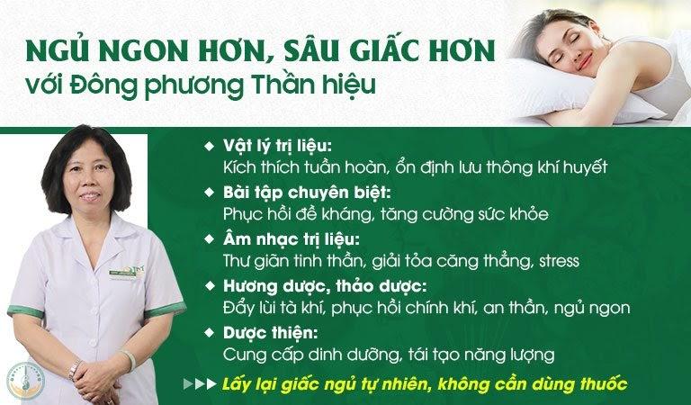 Liệu trình chữa mất ngủ tại Đông phương Y pháp