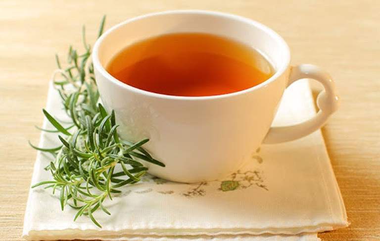 Trà hương thảo có mùi thơm đặc trưng rất tốt trong điều trị mất ngủ
