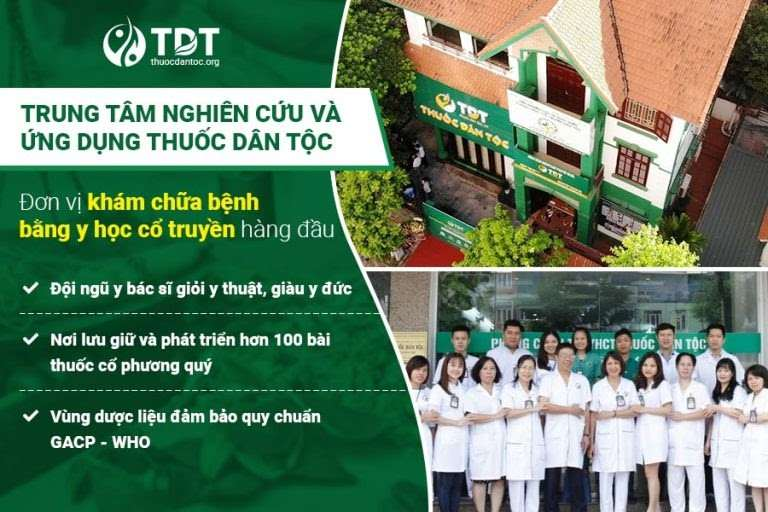 Trung tâm Thuốc dân tộc quy tụ đội ngũ bác sĩ giàu kinh nghiệm và chuyên môn