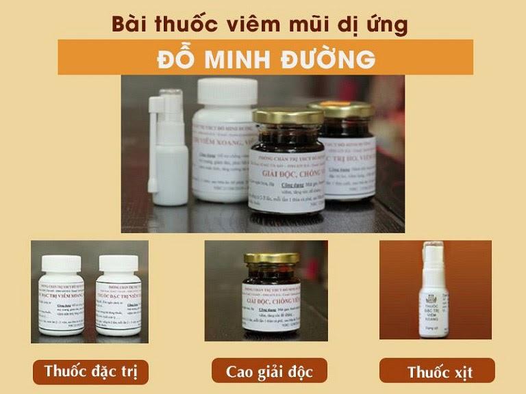 Bài thuốc viêm mũi dị ứng Đỗ Minh