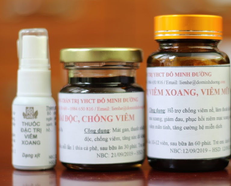 Liệu trình bài thuốc viêm xoang Đỗ Minh