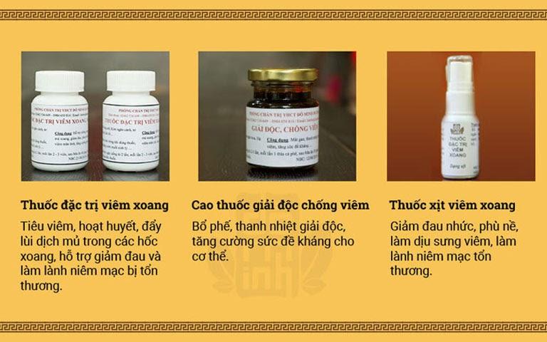 Tác dụng bài thuốc viêm xoang Đỗ Minh Đường