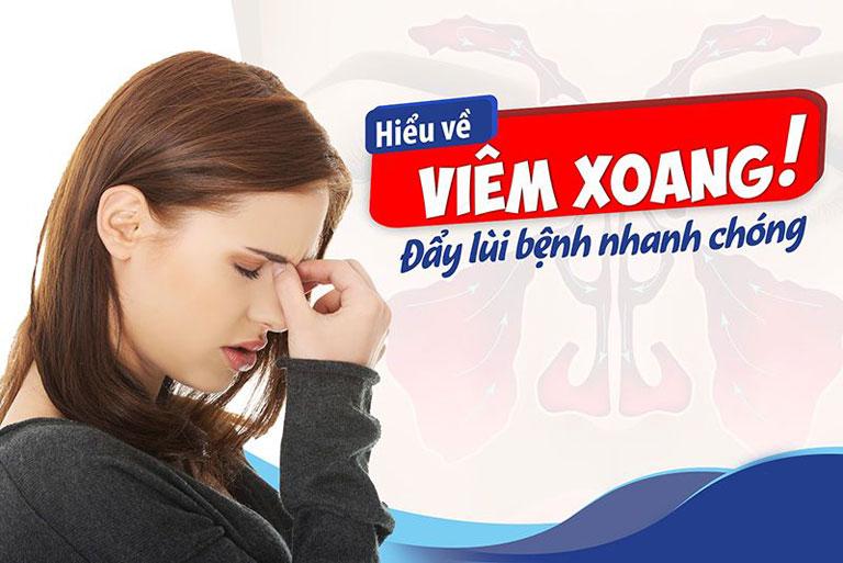 Viêm xoang là một trong những bệnh về tai mũi họng phổ biến hiện nay