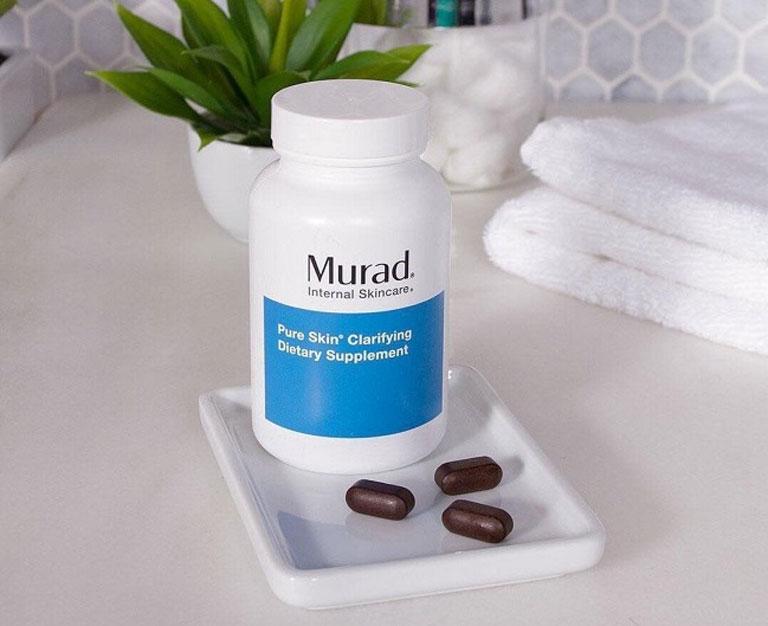 Murad giúp làm mát gan, trị mụn trứng cá hiệu quả