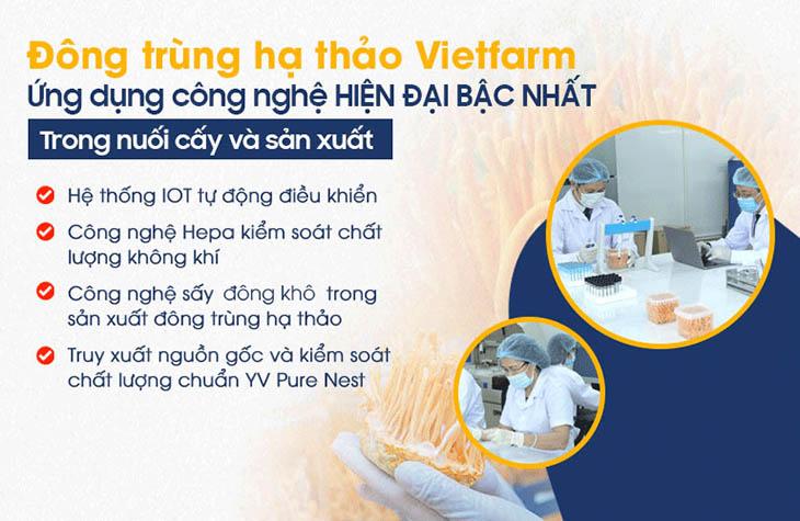 Đông trùng hạ thảo Vietfarm ứng dụng công nghệ hiện đại với số vốn đầu tư hơn 10 tỷ đồng