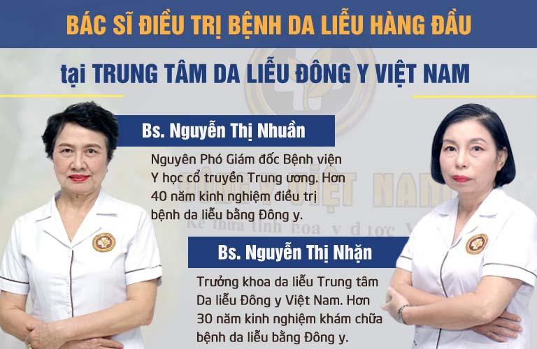 Hai chuyên gia hàng đầu tham gia vào quá trình nghiên cứu và bào chế An Bì Thang