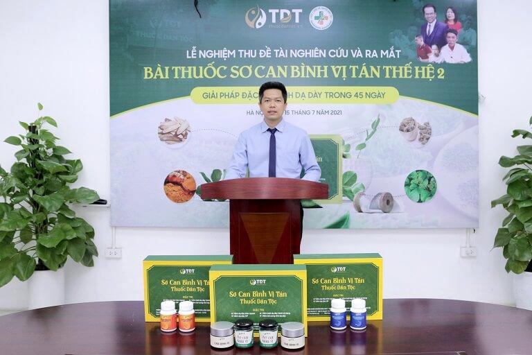 Ông Nguyễn Quang Hưng phát biểu khai mạc buổi lễ