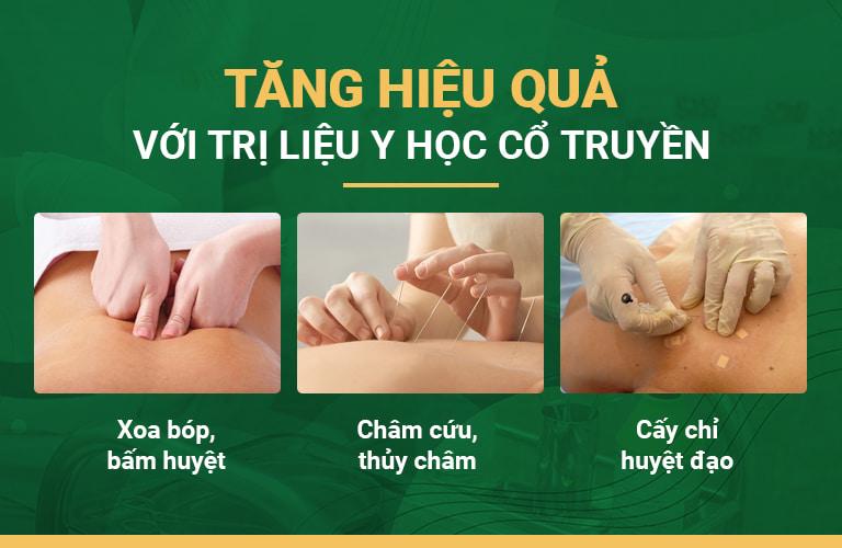 Trị liệu YHCT giúp tăng hiệu quả của phác đồ xương khớp