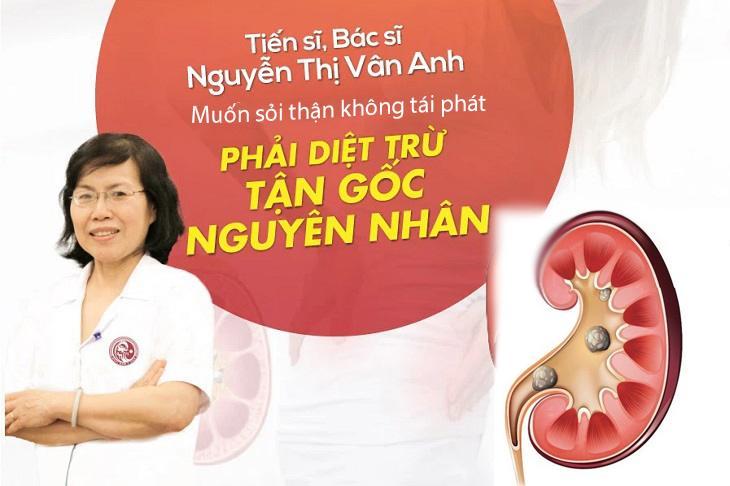 Bác sĩ Vân Anh và quan điểm chữa sỏi thận bằng YHCT