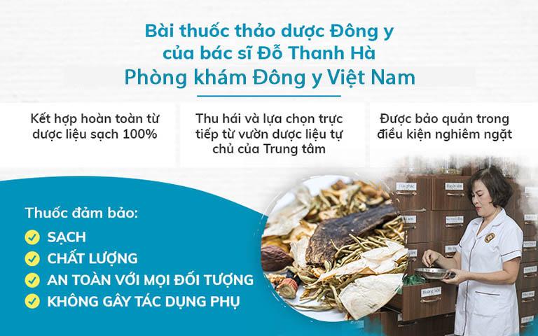 Bài thuốc của bác sĩ Đỗ Thanh Hà an toàn, lành tính với người bệnh