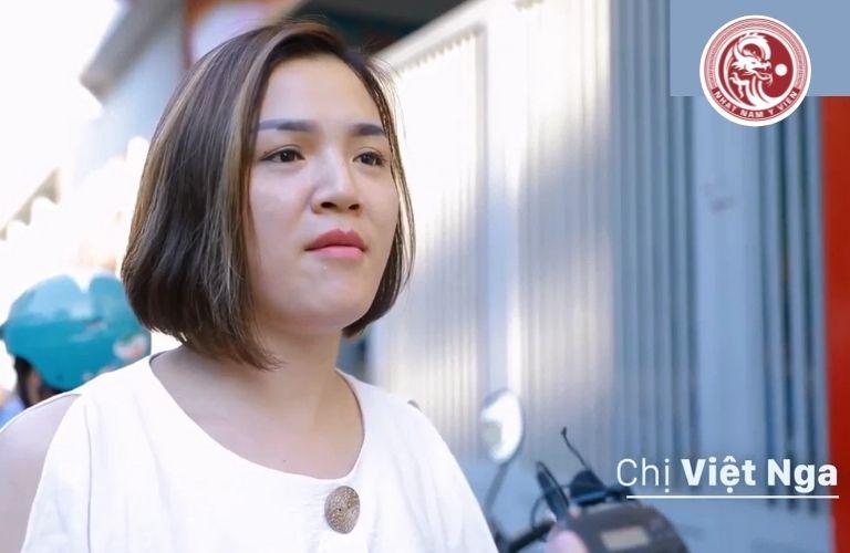 Chị Việt Nga chia sẻ về hành trình đánh tan trào ngược nhờ Nhất Nam Bình Vị Khang