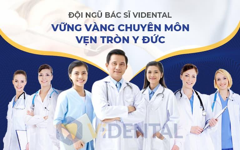 Vidental hội tụ đội ngũ bác sĩ chuyên sâu về chỉnh nha tại Việt Nam