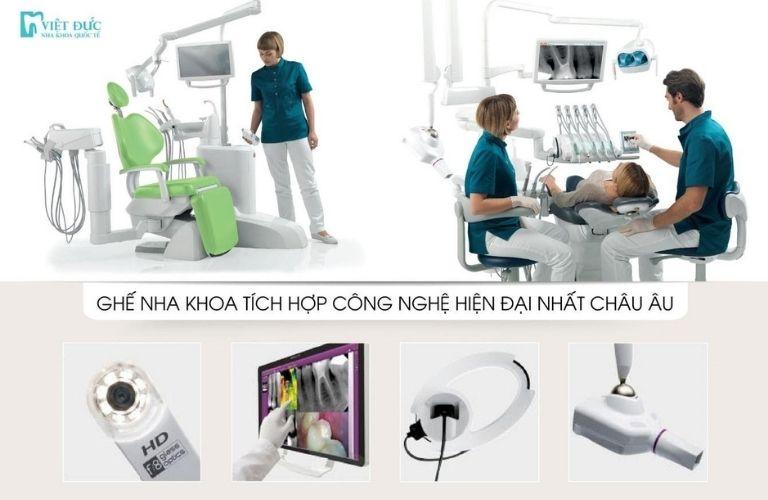 Nha khoa Quốc tế Việt Đức k sở hữu công nghệ bậc nhất Châu  u