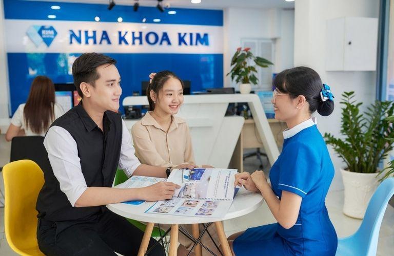 Nha khoa Kim - địa chỉ được rất nhiều khách hàng tin tưởng và lựa chọn