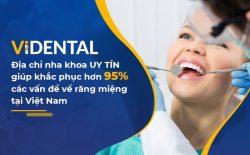 Viện Nha khoa Vidental giải quyết mọi khuyết điểm răng miệng