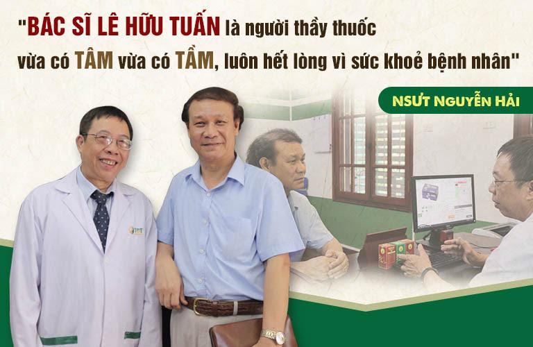 Bác sĩ Tuấn đồng hành cùng nghệ sĩ Nguyễn Hải vượt qua giai đoạn mãn dục nam