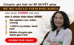 Phụ Khang Tán chữa khỏi viêm nhiễm phụ khoa