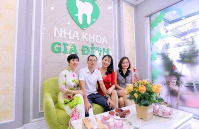 Nha khoa Gia đình là địa chỉ nha khoa uy tín tại Hà Nội được khách hàng tin tưởng hiện nay