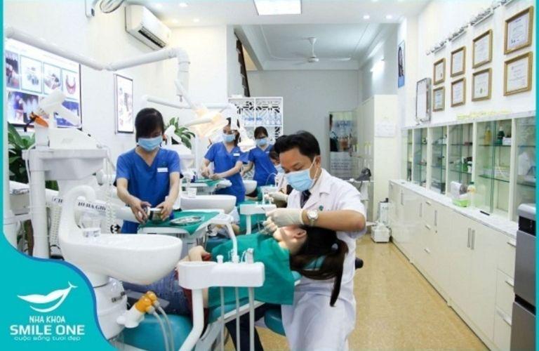Nha khoa Smile One chăm sóc và điều trị chuyên sâu những vấn đề về răng miệng